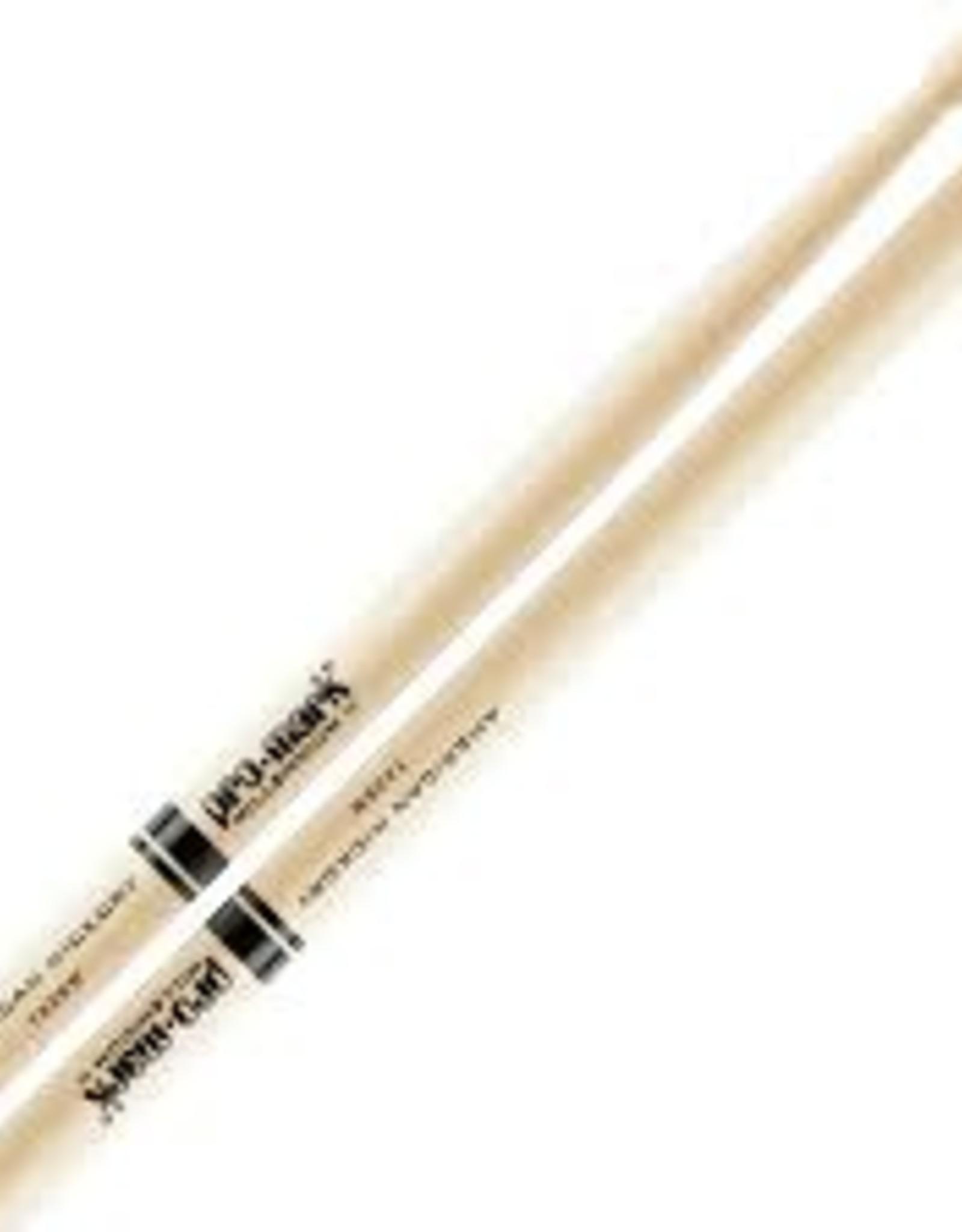 Promark Promark 2B American Hickory Wood Tip Drumsticks