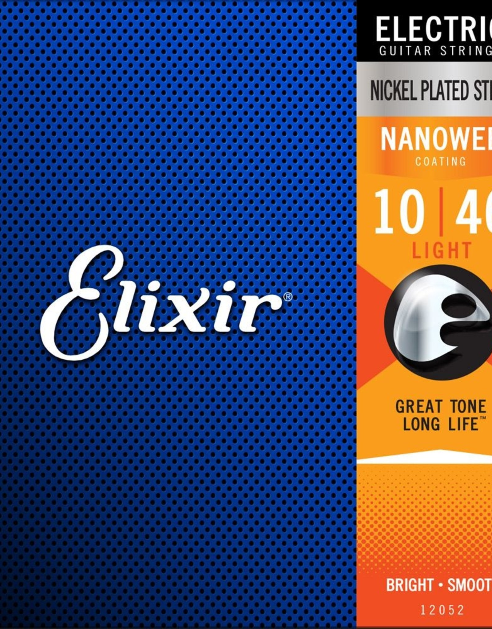 ELIXIR Elixir Electric Nanoweb Light Plated Steel Strings .10-.46