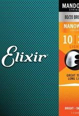 ELIXIR ELIXIR MANDOLIN NANO LITE 80/20 BRONZE