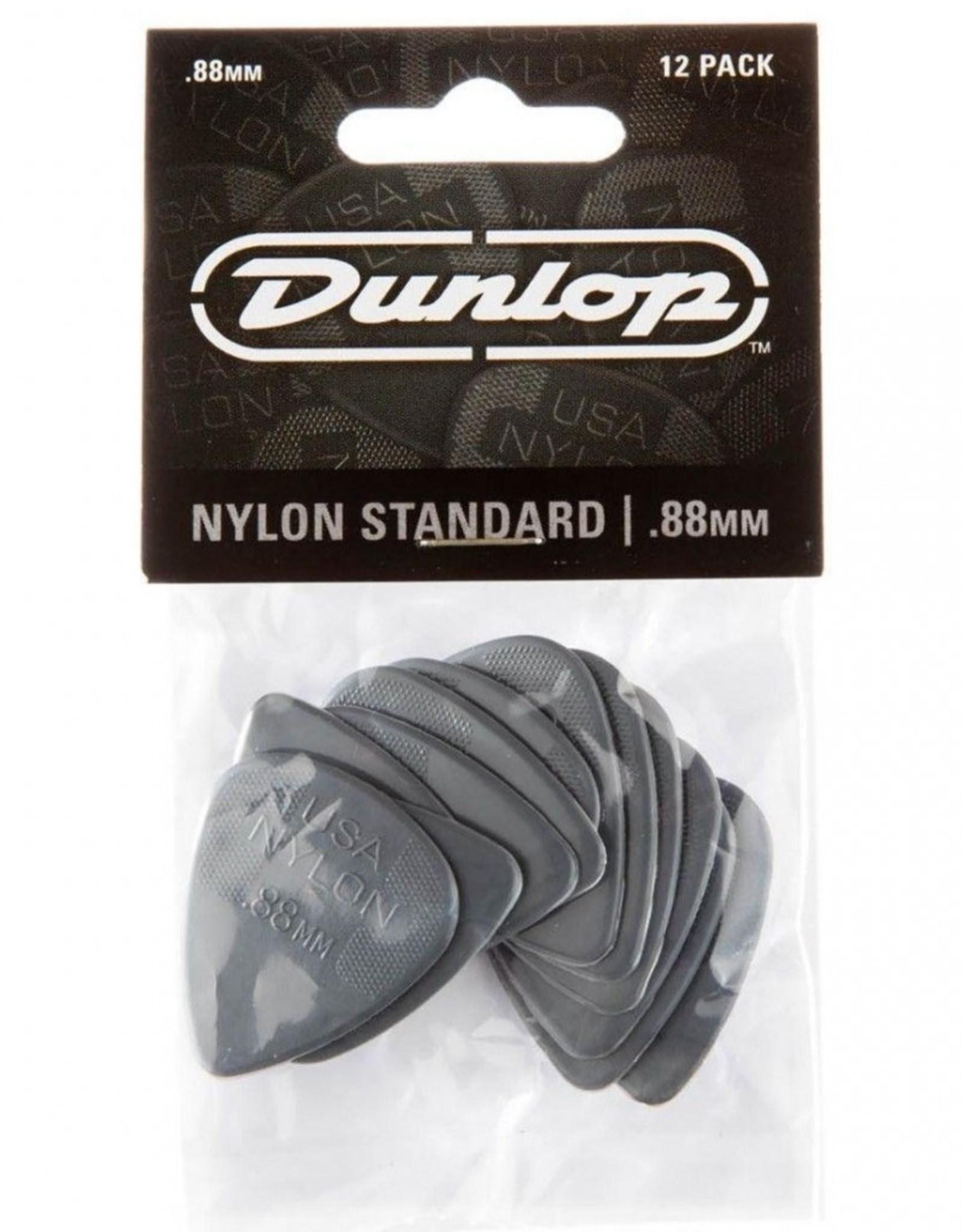 Dunlop Dunlop Nylon Standard 88mm Player Pack