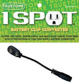 Truetone 1 Spot Battery Clip Converter