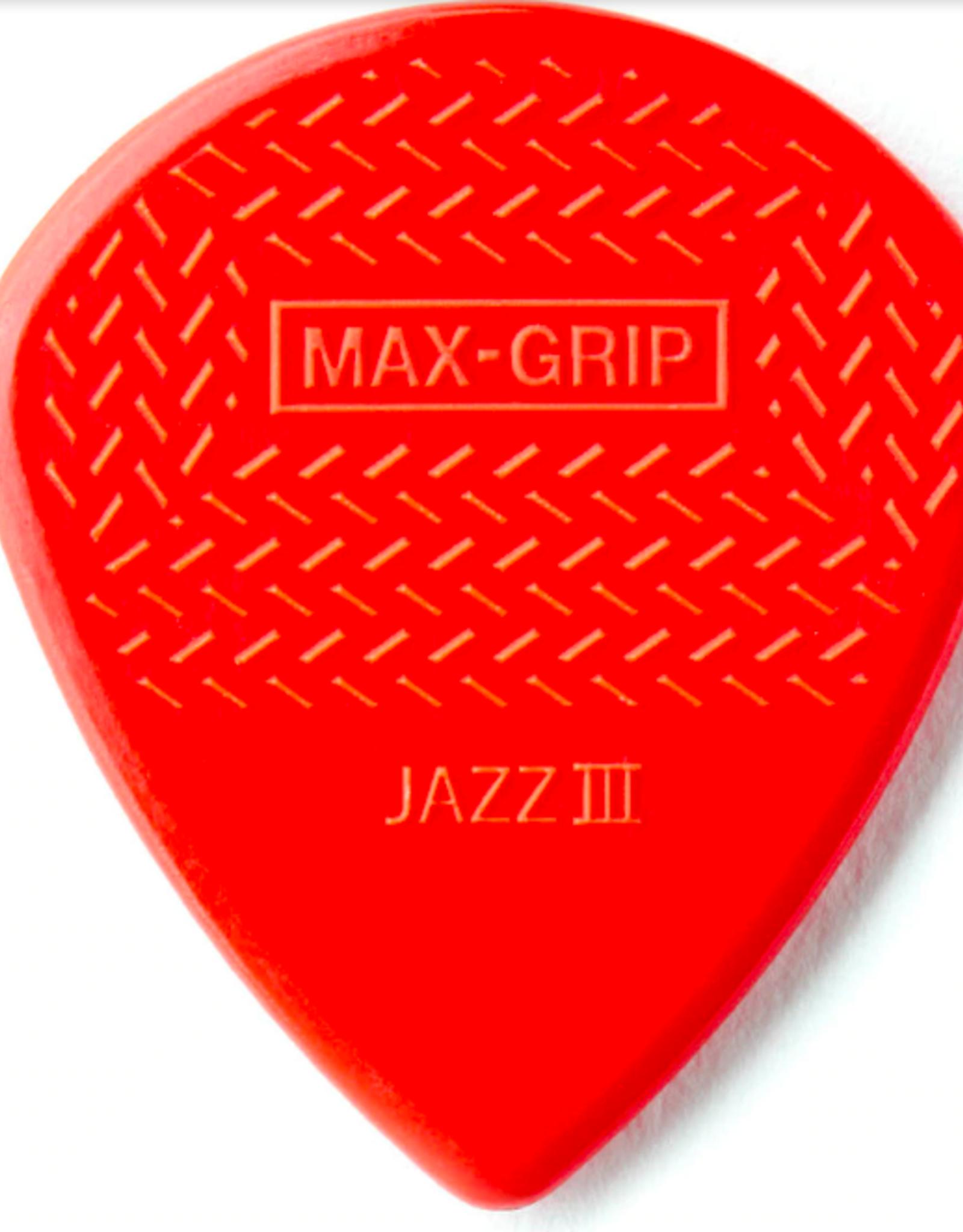 Dunlop Nylon Max Grip Jazz Picks - Player Pack