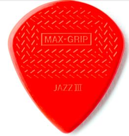 Dunlop Nylon Max Grip Jazz Pick Player Pack
