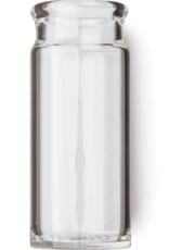 Dunlop Blues Bottle Slide, Clear, Regular Wall Thickness, Large