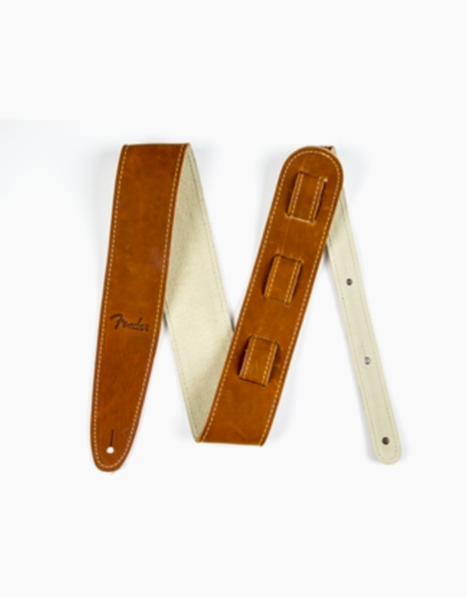 Fender Fender Ball Glove Leather Strap, Brown