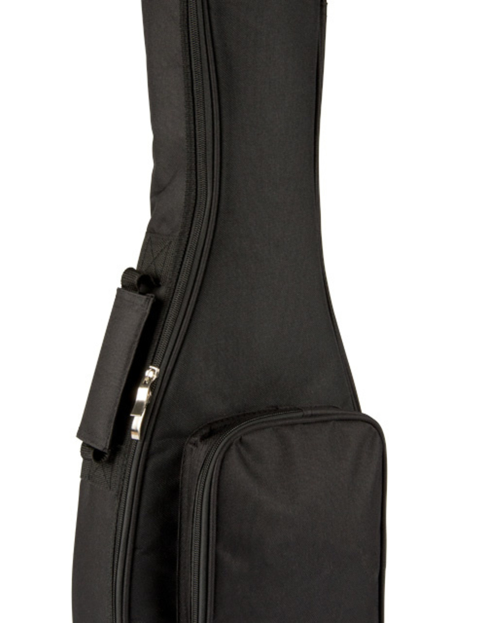 LANIKAI Lanikai Black Nylon Thickly Padded Concert Ukulele Bag