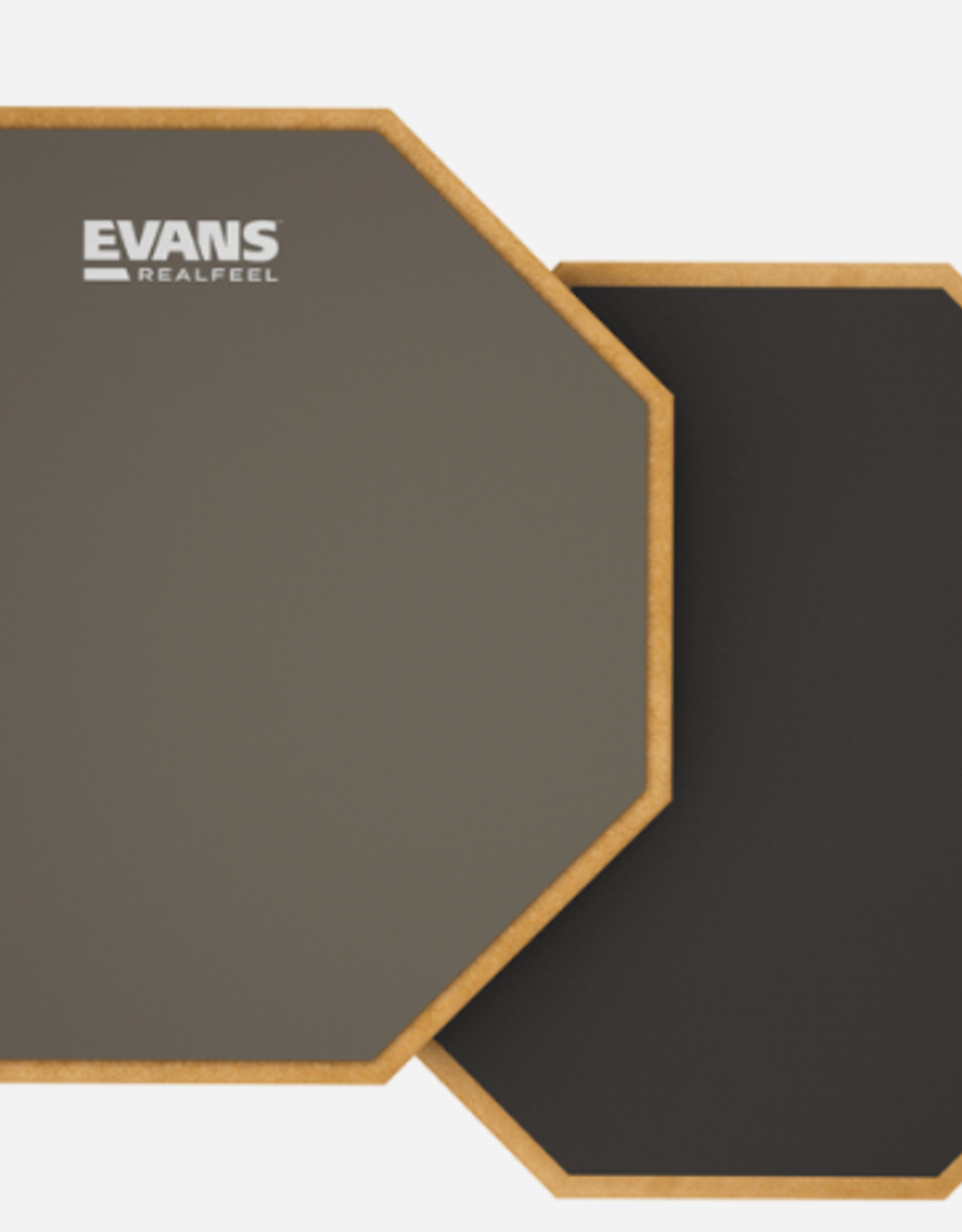 "Evans Accessories Evans 12"" Realfeel Double-sided Practice Pad"