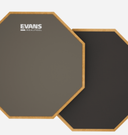 "Evans Accessories Evans 12"" Realfeel Double-sided Practice Pad"