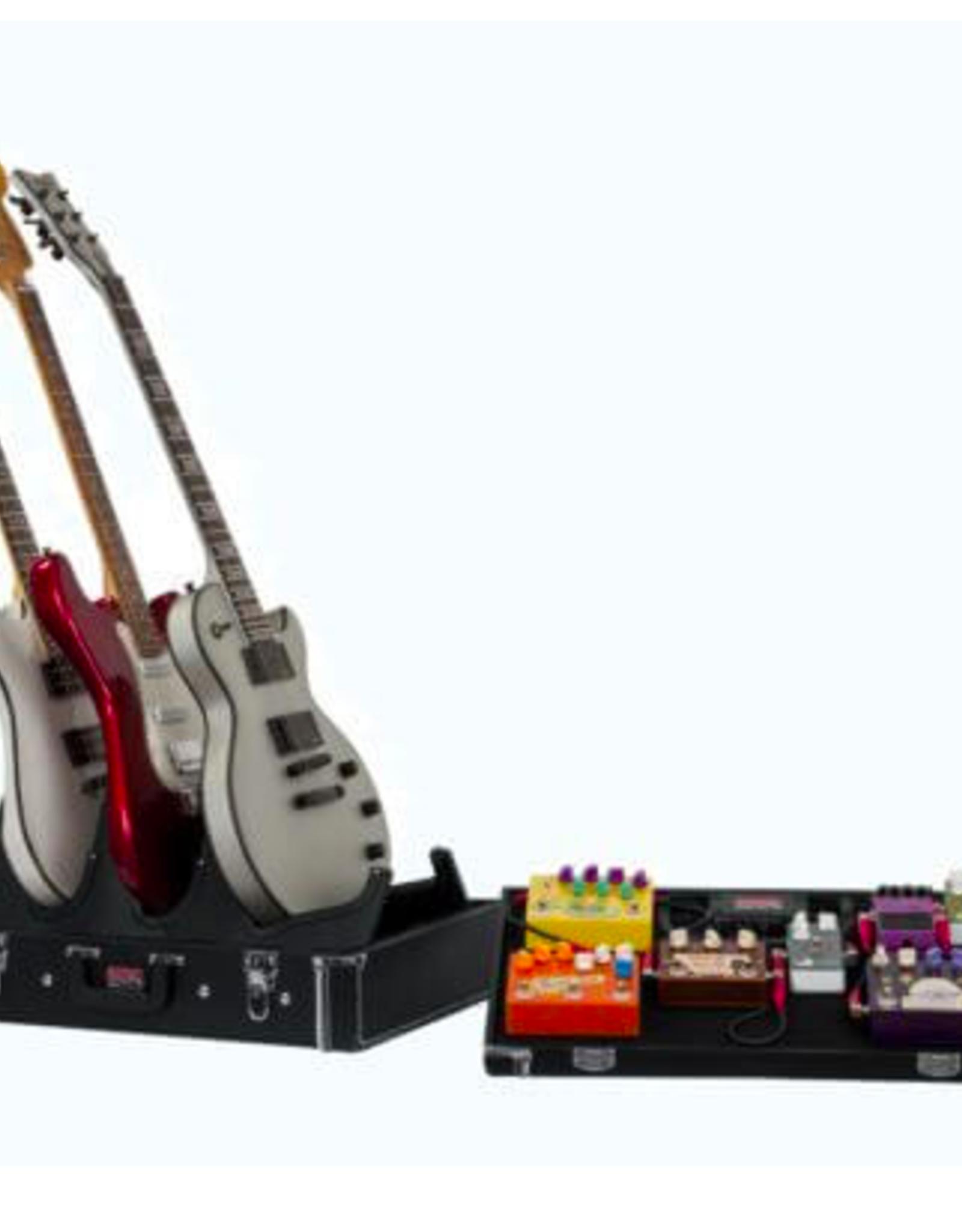 Gator Gig Box Series Pedal Board/Guitar Stand Case, Jr w/Power