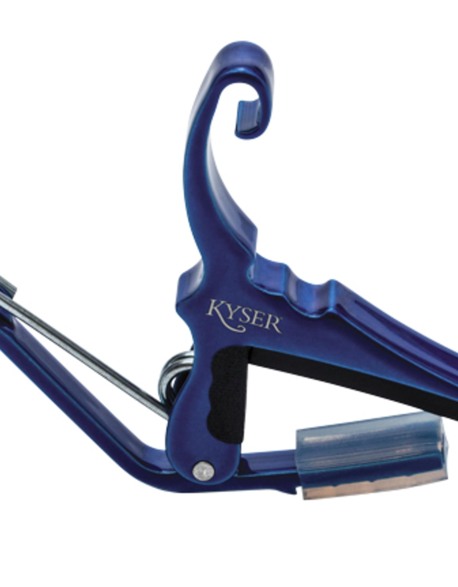 Kyser KYSER QUICK-CHANGE GUITAR CAPO BLUE
