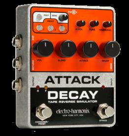 Electro-Harmonix Attack Decay Tape Reverse Simulator, 9.6 DC-200 PSU included