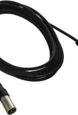 Rapco XLRM to XLRF Microphone Cable 3 Ft Neutrik Ends