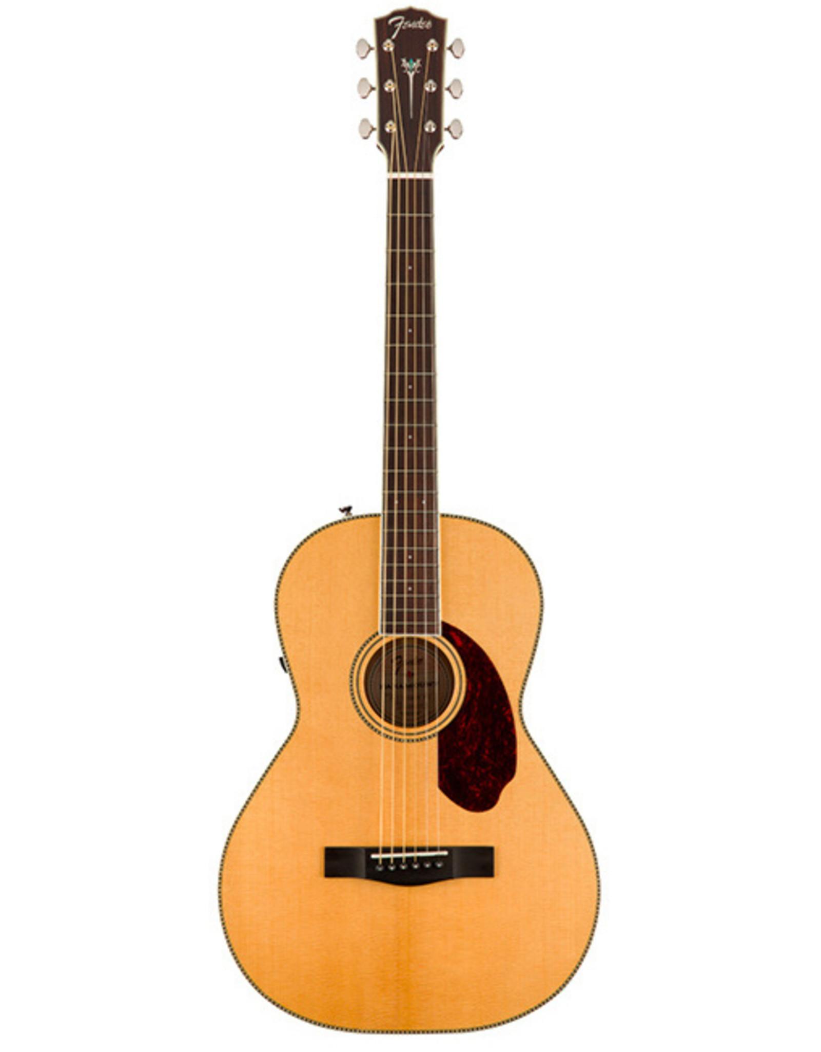 Fender Fender Paramount PM-2 Standard Parlor, Natural w/hsc