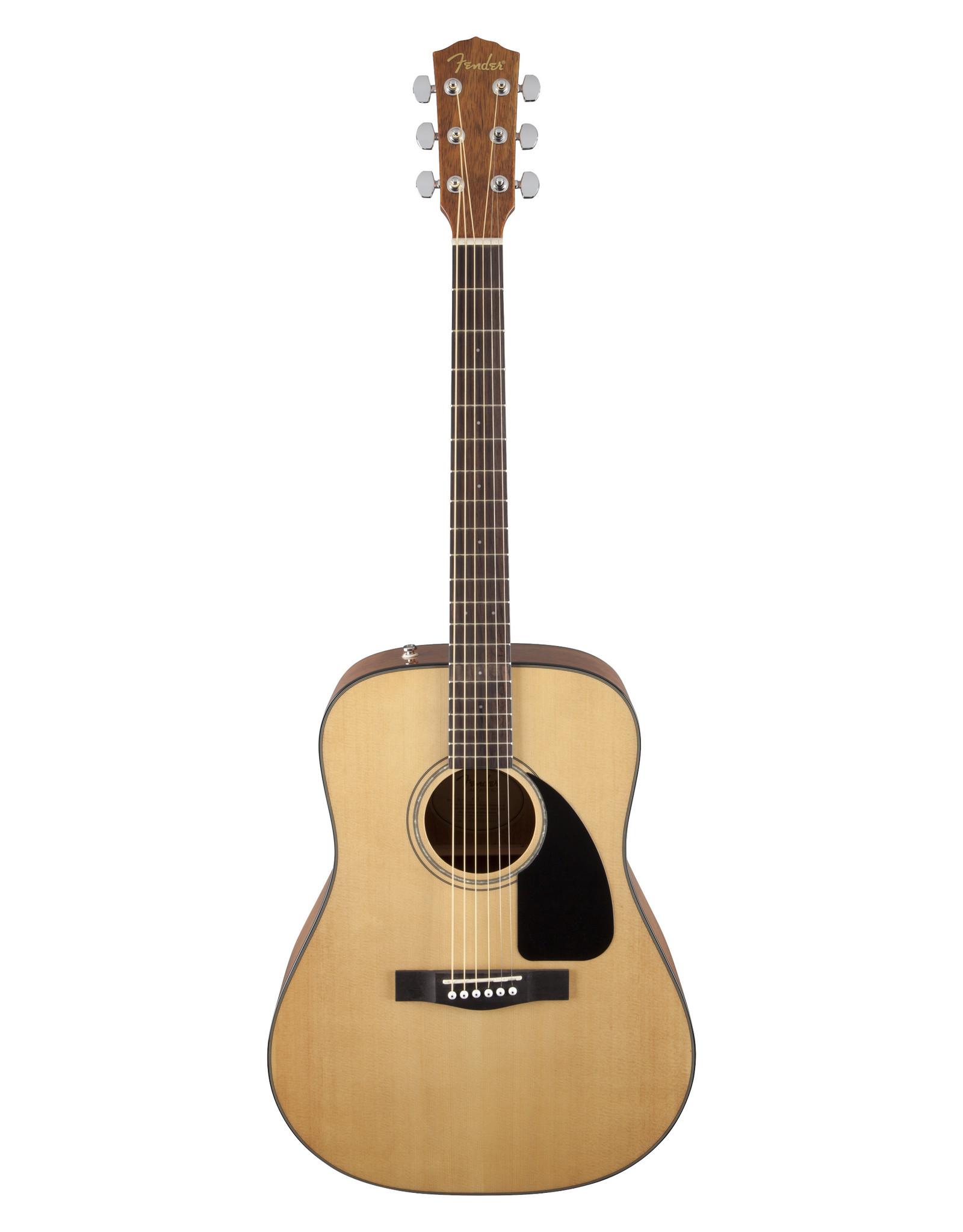 Fender Fender CD-60 Dreadnought V3 w/hsc, Natural, Walnut FB