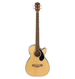 Fender Fender CB-60SCE Bass, Natural, Laurel FB