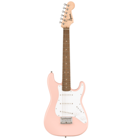 Squier Squier Mini Stratocaster, Shell Pink, Laurel Fingerboard