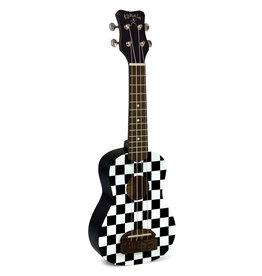 Kohala Kohala Tiki Soprano, Checkerboard