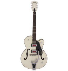 "Gretsch Gretsch G5410T Electromatic ""Rat Rod"" Hollow Body Single-Cut with Bigsby, Matte Vintage White"