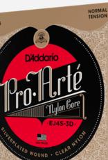 D'Addario D'addario EJ45 Pro Arte Normal Tension Nylon, 3 Pack