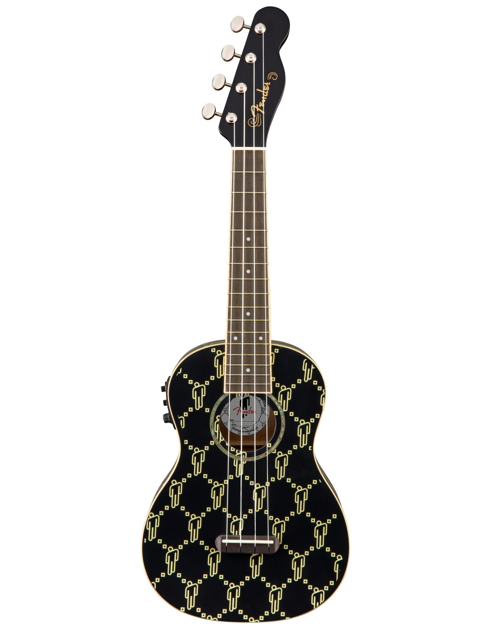 Fender Fender Billie Eilish Signature Concert Ukulele