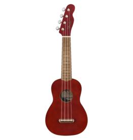 Fender Fender Venice Soprano Ukulele, Walnut FB, Cherry