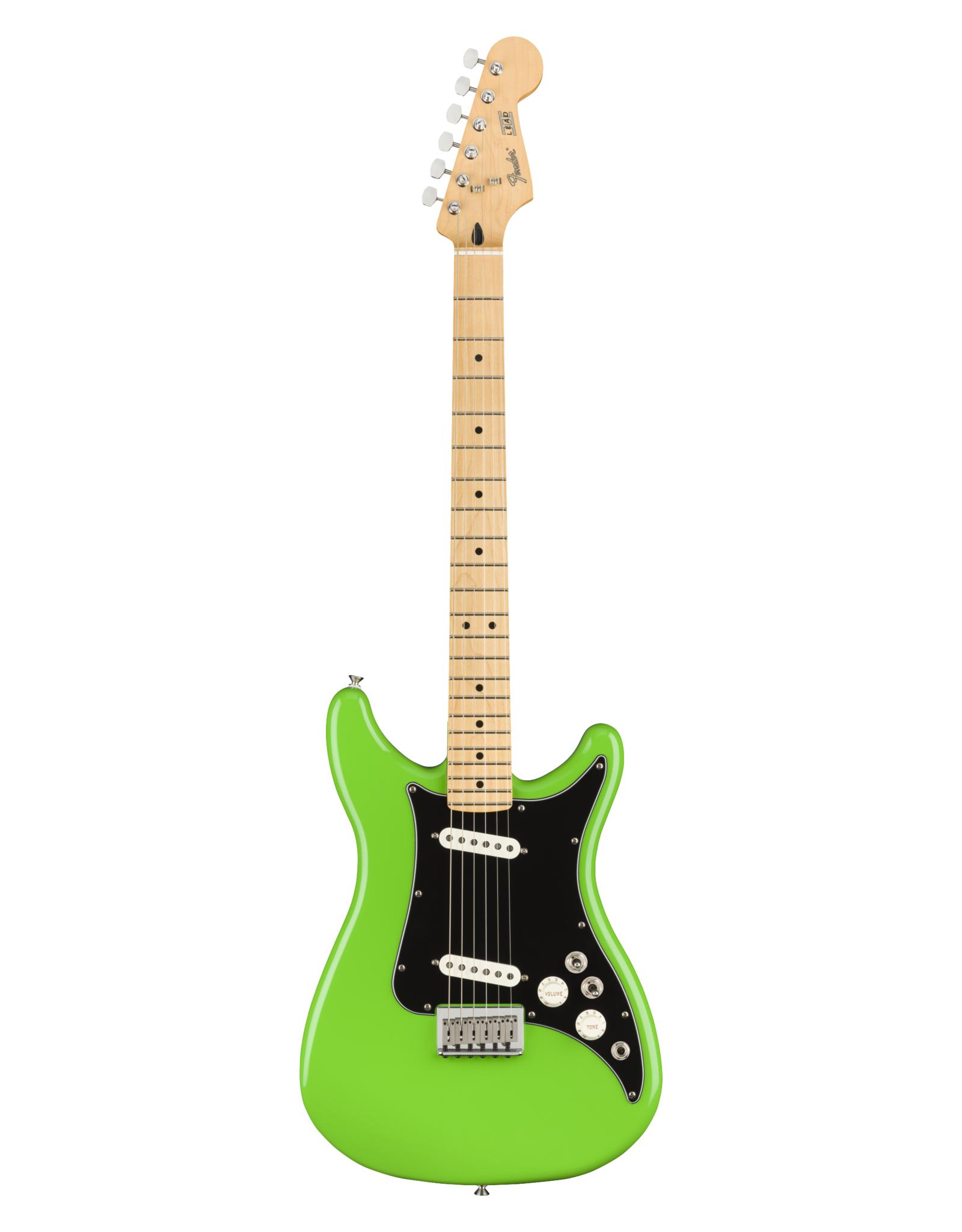 Fender Fender Player Series Lead II, Neon Green, Maple Fingerboard