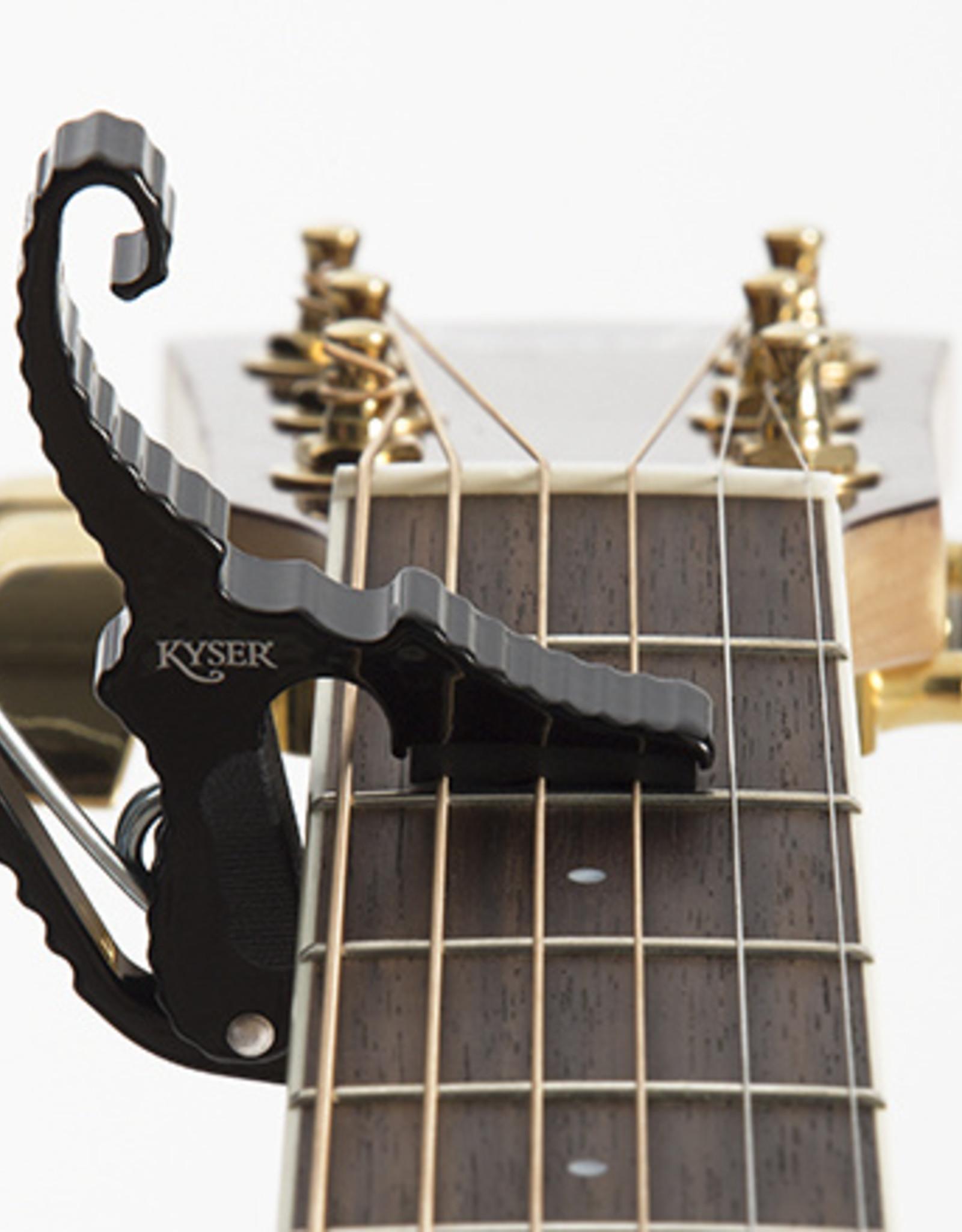 Kyser KYSER QUICK CHANGE GUITAR CAPO SHORT CUT