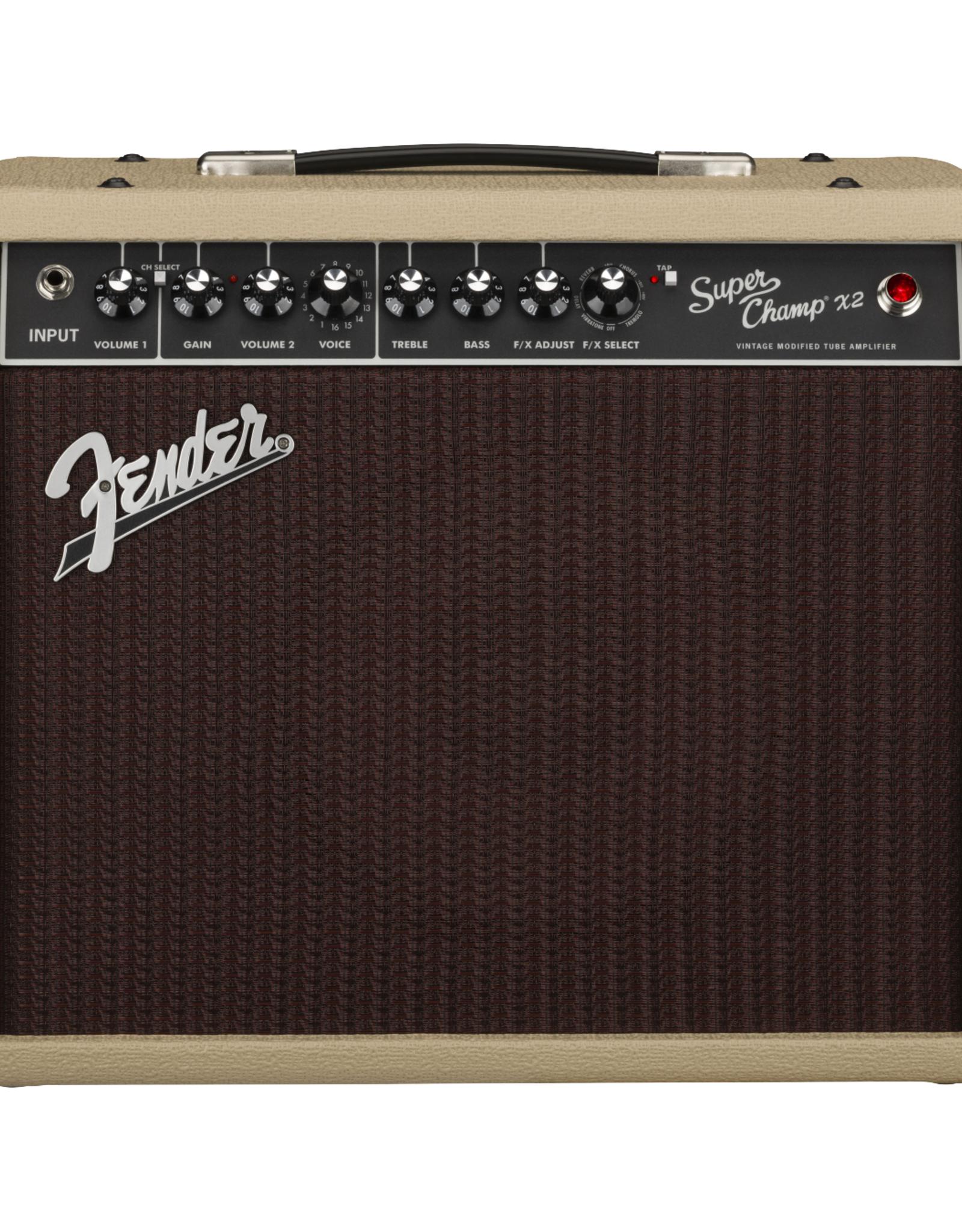 "Fender Fender 2020 Limited Edition Super Champ X2 Ragin"" Cajun, Blonde"
