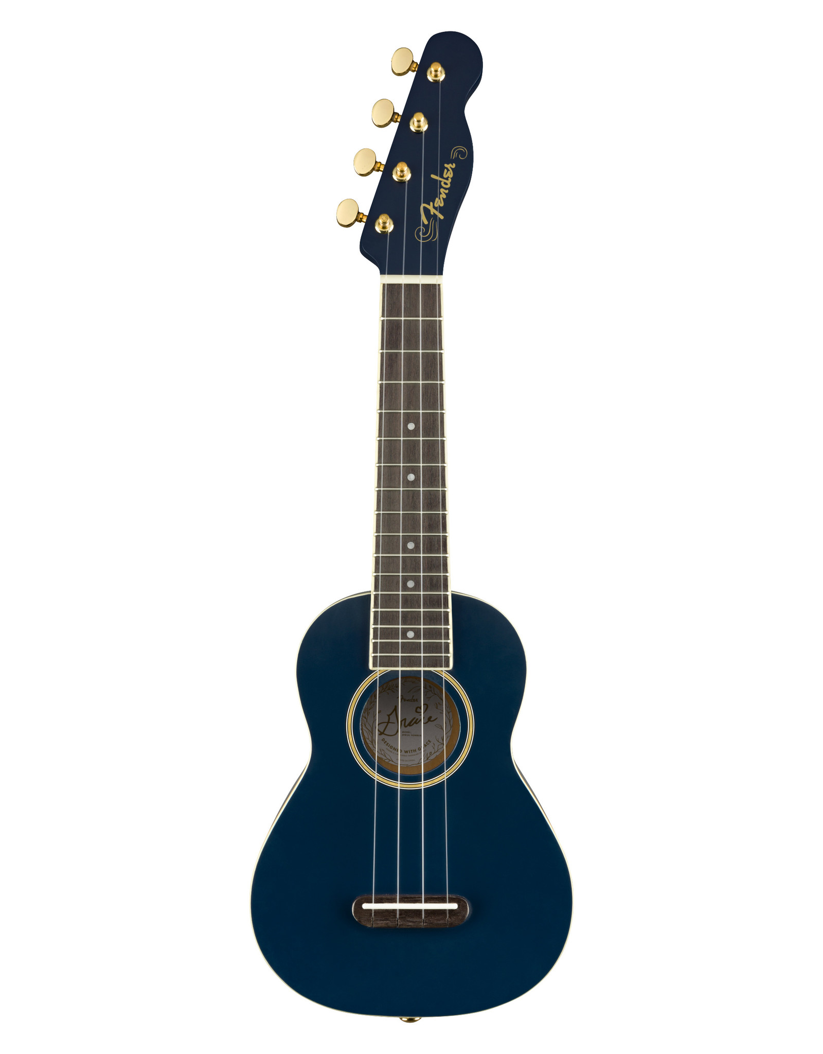 "Fender Fender Grace VanderWaal ""Moonlight"" Soprano Ukulele"