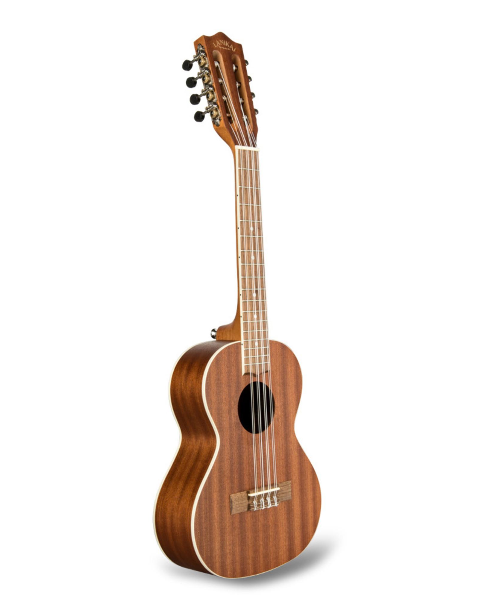 LANIKAI Lanikai Mahogany Tenor 8 String Uke