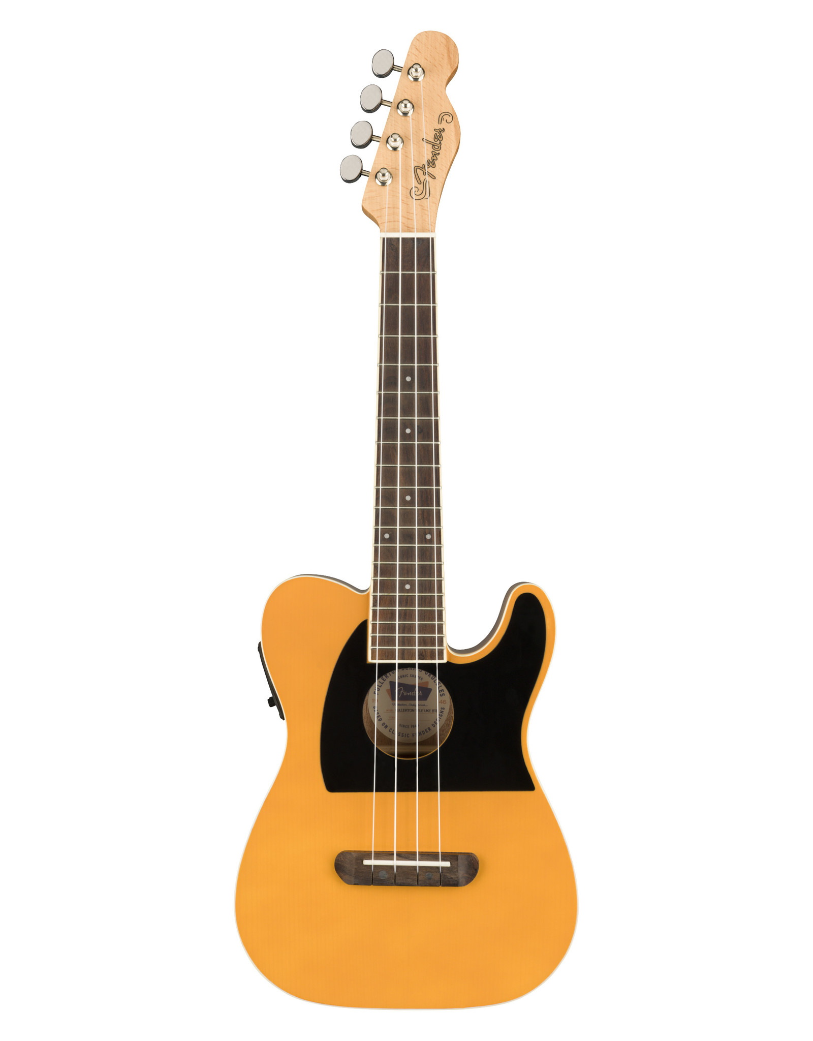 Fender Fender Fullerton Tele® Uke, Butterscotch Blonde