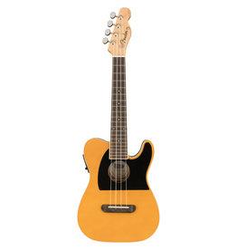 Fender Fender Fullerton Tele® Ukulele, Butterscotch Blonde
