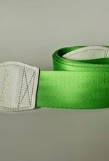 Souldier Souldier Plain Lime Seat Belt Guitar Strap