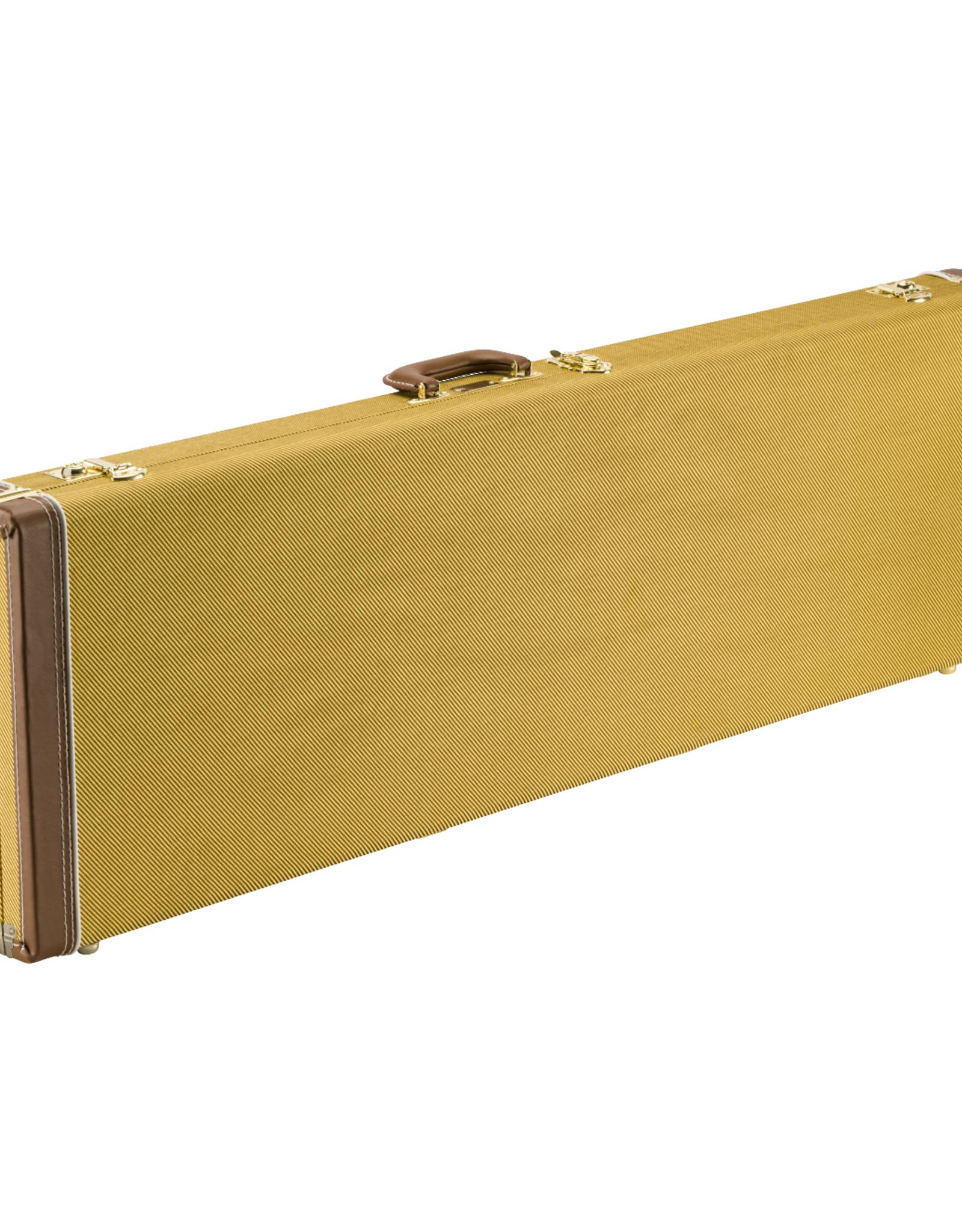 Fender Fender Classic Series Wood Case - P-Bass/Jazz Bass, Tweed