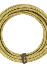 Fender Fender Deluxe Series Instrument Cable, Straight/Straight, 18.6', Tweed