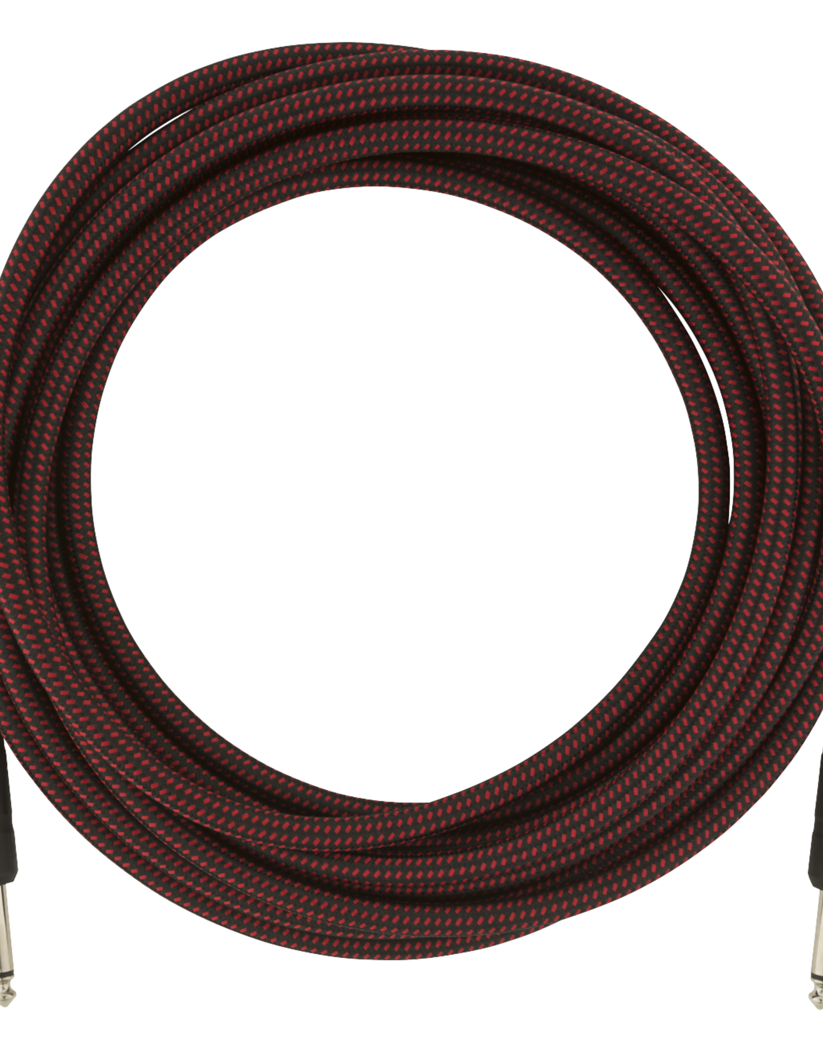 Fender Fender Pro Series Instrument Cable, 18.6', Red Tweed