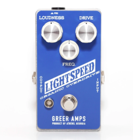Greer Amplification Greer Amplification Lightspeed Organic Overdrive