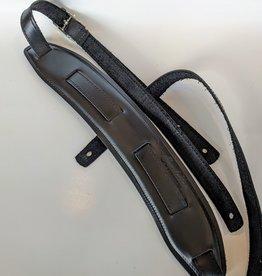 Souldier Souldier Plain Saddle Strap, Black Leather