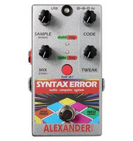 Alexander Pedals Alexander Pedals Syntax Error, Audio Computer System, Neo Series