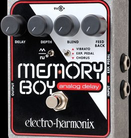 Electro-Harmonix EHX Memory Boy Analog Echo/Chorus/Vibrato, 9.6DC-200 PSU included