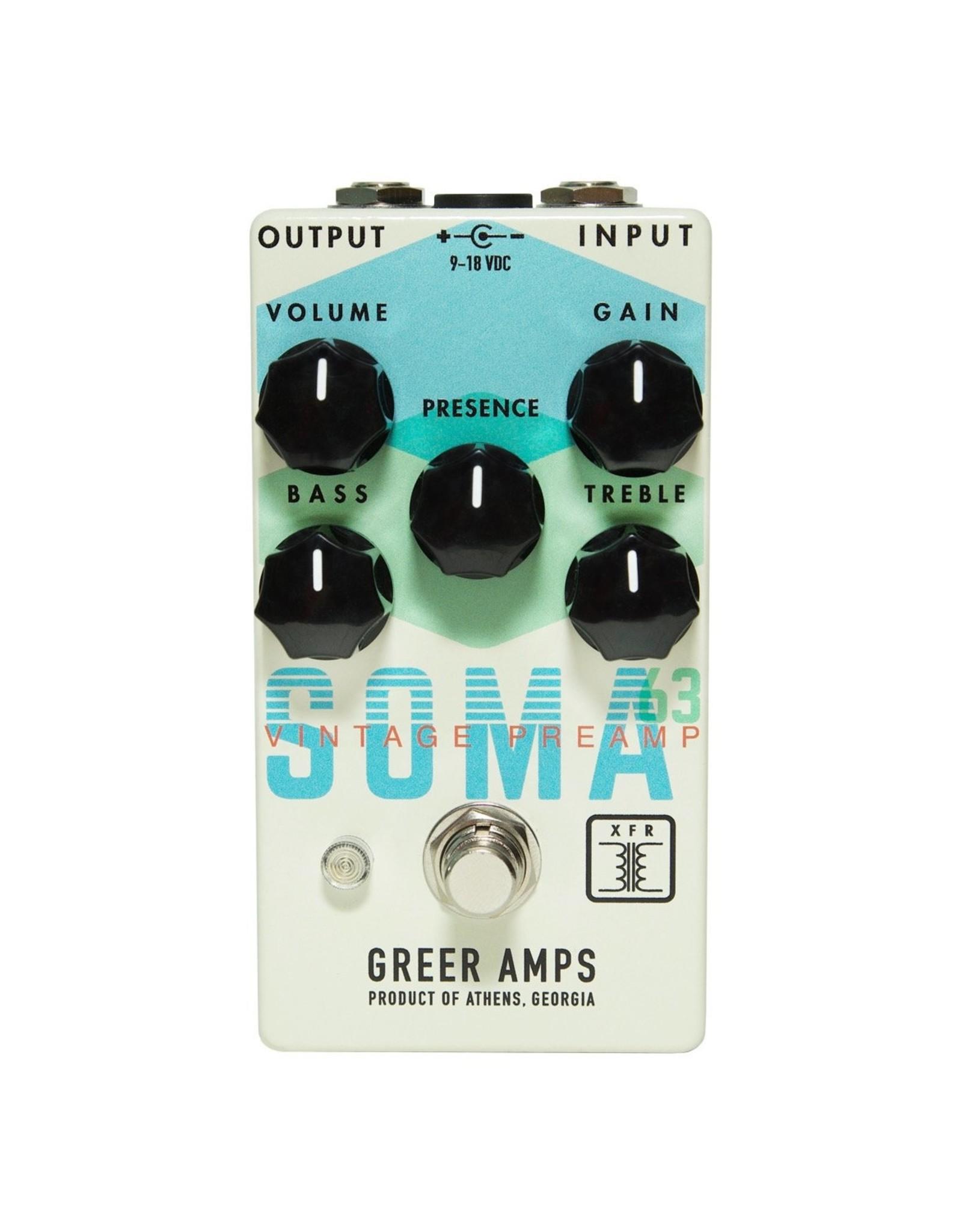 Greer Amplification Greer Amplification SOMA 63 Vintage Preamp