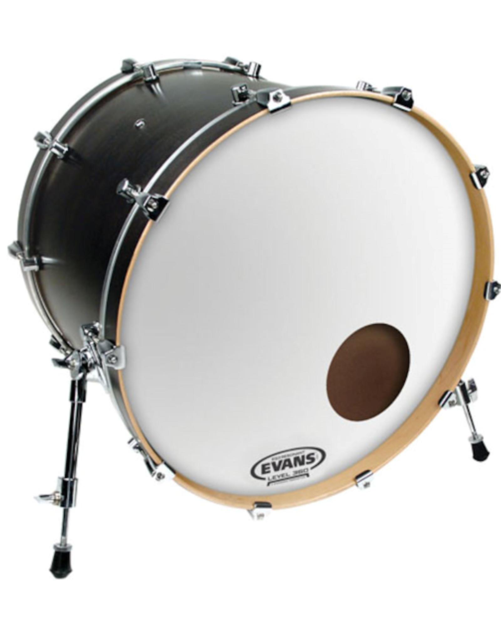 """Evans Evans EQ3 Reso Smooth White 22"""" Bass Drum Head"""