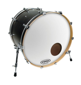 "Evans Evans EQ3 Reso Smooth White 22"" Bass Drum Head"