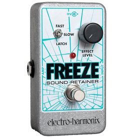 Electro-Harmonix EHX Freeze Infinite Sustain Pedal, 9.6DC-200 PSU Included