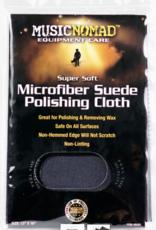 "MUSIC NOMAD Music Nomad Super Soft Edgeless Microfiber Suede Polishing Cloth 12"" x 16"""