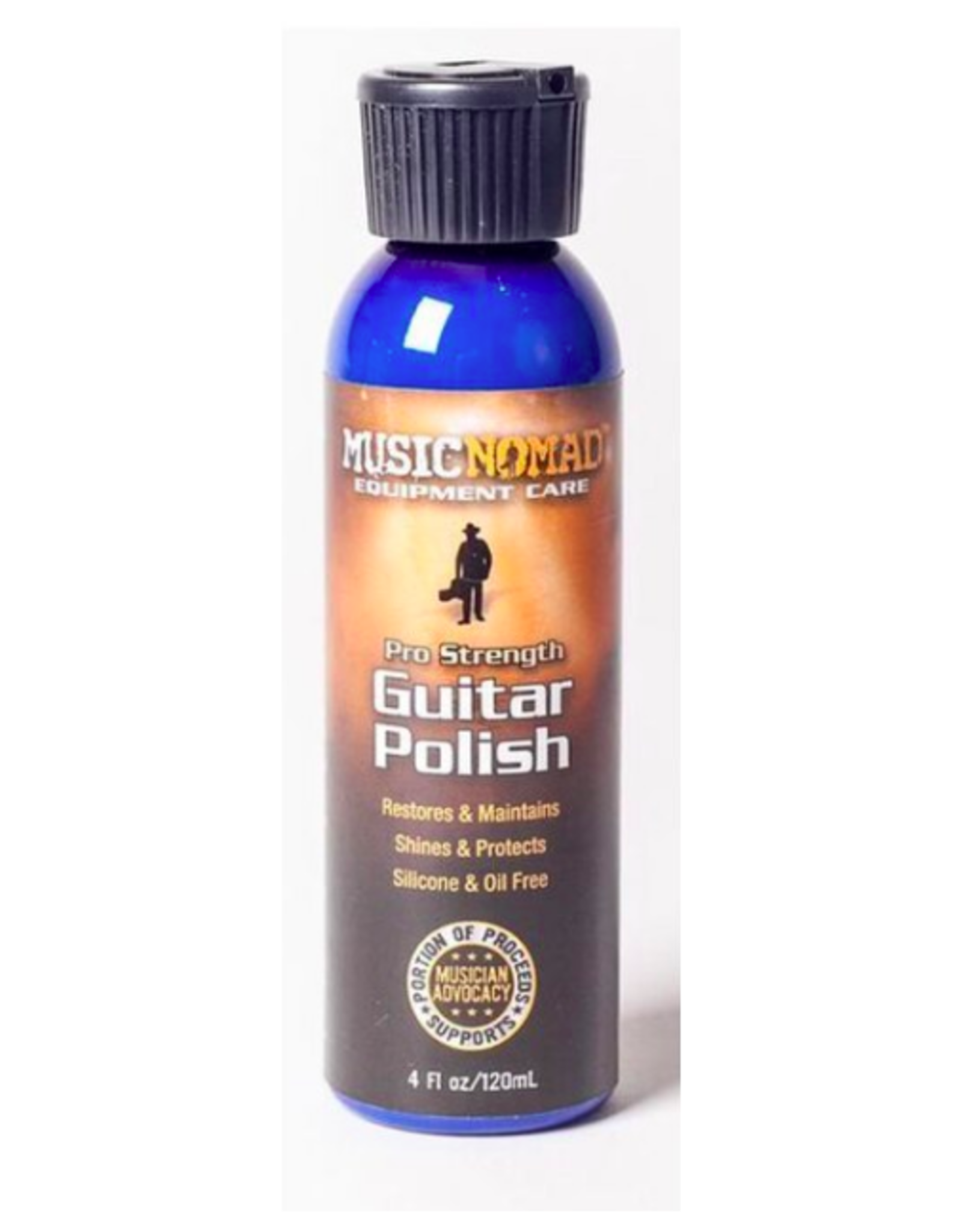 MUSIC NOMAD MUSIC NOMAD Guitar Polish - Pro Strength Formula 4 oz