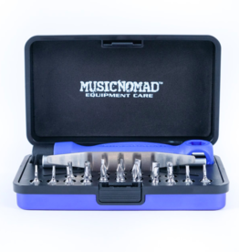 MUSIC NOMAD Premium Guitar Tech Screwdriver & Wrench Set