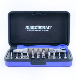 MUSIC NOMAD Premium Guitar Tech Screwdriver & Wrench Set