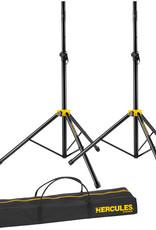 Hercules Hercules Stage Series Speaker Stand w/Smart Adaptor w/Bag (Twin Pack)