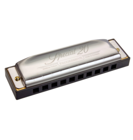 Hohner Special 20 Bundle Includes C-7 Case and Keys of G,A,C,D,E